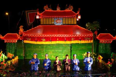 Ho Chi Minh City: Water Puppet Show and Dinner Cruise