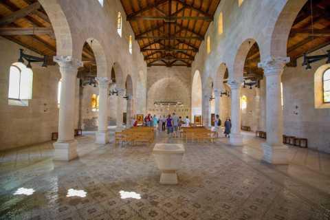 Vanuit Jeruzalem: Nazareth, de stad & het Meer van Tiberias
