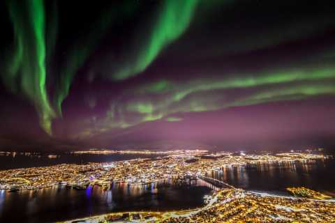 Tromso: Northern Lights Cable Car Excursion