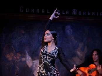 Madrid: Flamenco-Show im Corral de la Morería