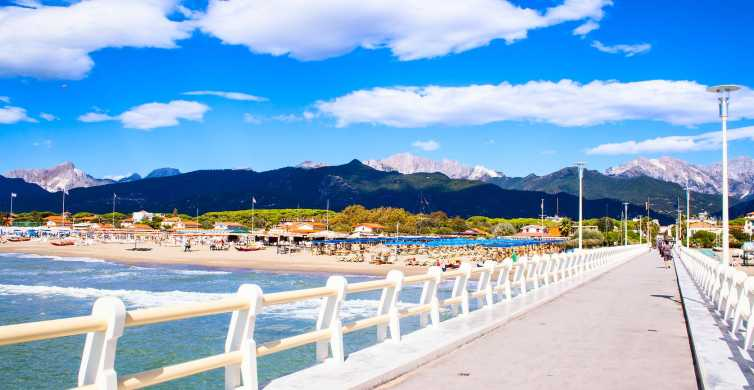 From Florence: Pisa, Lucca, Forte dei Marmi Full-Day Tour