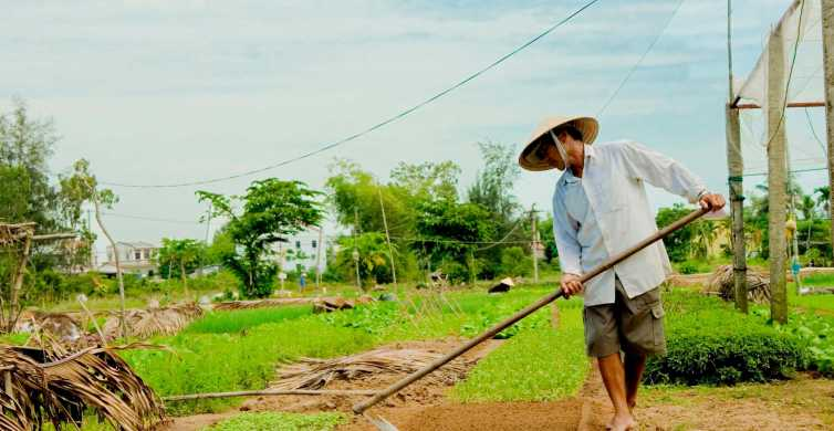 Hoi An: Cooking Class with Farm Trip and Herbal Massage