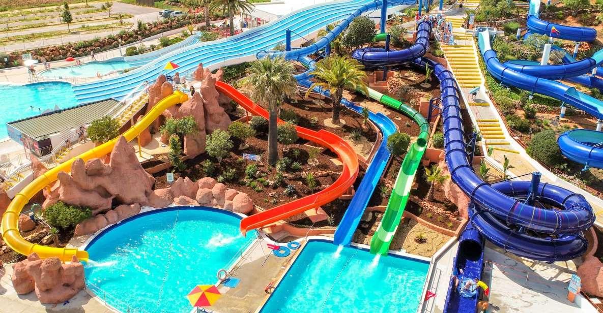Lagoa: entrada al parque acuático Slide & Splash