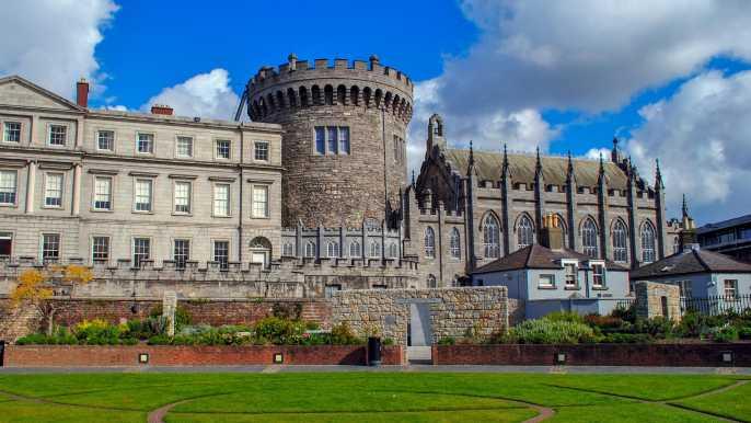 Libro de acceso rápido de Kells y visita del castillo de Dublín