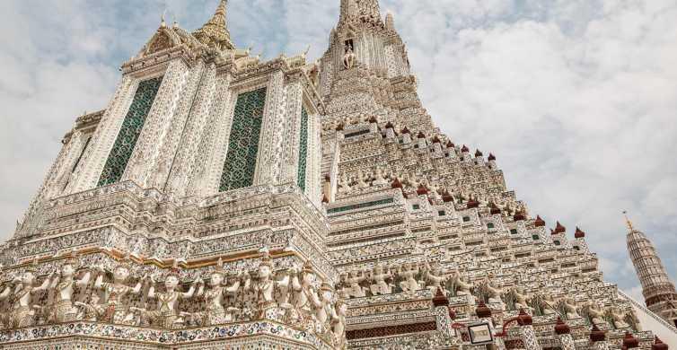 Bangkok: 2-Hour Wat Arun, Royal Barge & Longtail Boat Tour