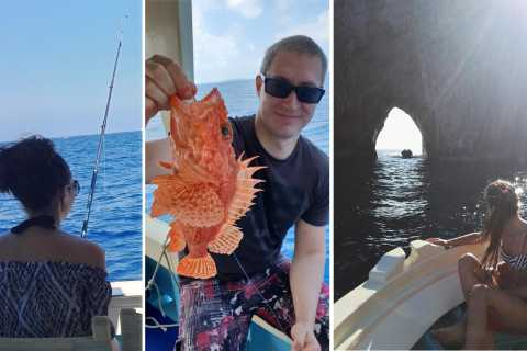 From Sorrento: Fishing in Capri with Lunch