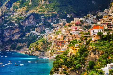 From Sorrento: Amalfi Coast Small Group Tour by Minivan