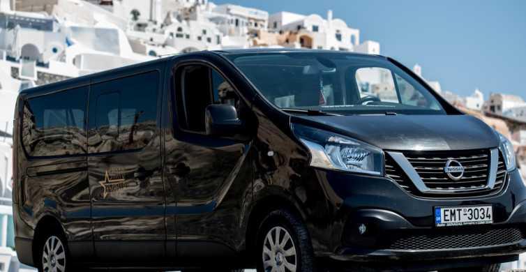 Santorini: Private Airport Transfer