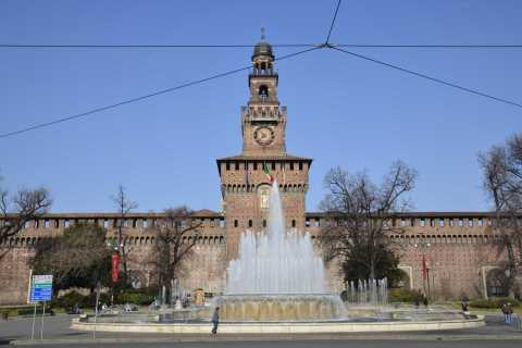 Milan: Sforza Castle Express Guided Tour