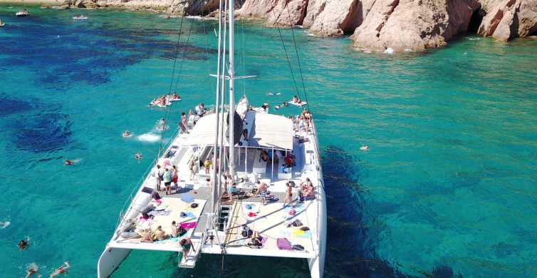 Lloret de Mar: Catamaran Sailing Experience with BBQ Lunch