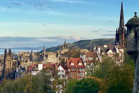 Da Glasgow: tour delle attrazioni della città di Edimburgo in spagnolo