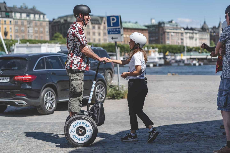 Stockholm: Djurgården Segway-Tour