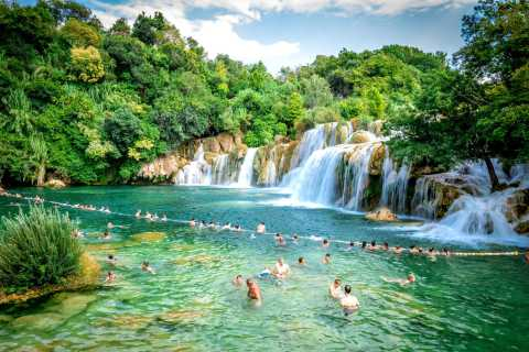 From Split: SMART Krka National Park Tour