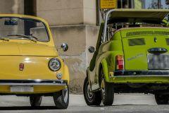 Palermo: Excursão turística do Vintage Fiat 500