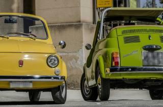Palermo: Historische Fiat-500-Sightseeing-Tour