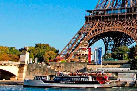 Disneyland Paris: Paris-Tagestour mit Sightseeing-Bootstour