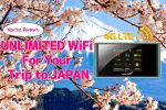 Narita Airport pickup: Japan Pocket WiFi Router 4G LTE