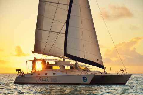 From Trou D'Eau Douce: Sundowner Cruise