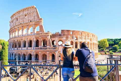 Roma: Passeio privado de dia inteiro com transporte privado