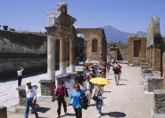 Pompeji und Herculaneum: Private Tour mit Transport