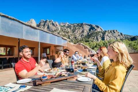 Barcelona: Montserrat Monastery Visit & Lunch at a Farmhouse