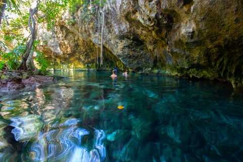 Ruta de los cenotes: visita a las cuevas y tour en bicicleta