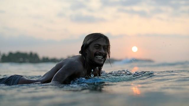Weligama: 1 uur Green Water Intermediate Surf-les