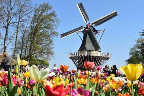 Amsterdam: Keukenhof & Zaanse Schans + 1 Free Attraction