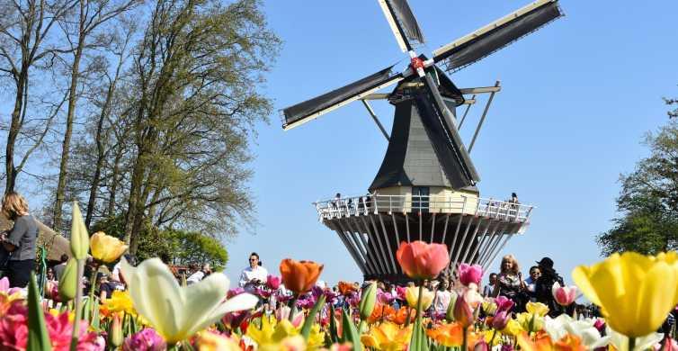 Amsterdam: Keukenhof et Zaanse Schans 1attraction gratuite