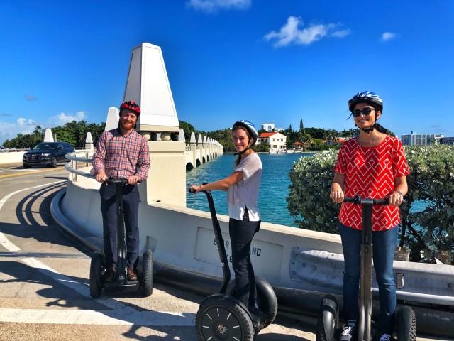 Bild Miami Beach: Star Island Segway-Tour