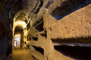 Rom: Katakomben-Tour mit Transfer