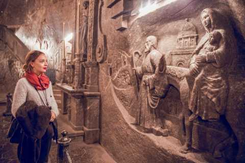 From Krakow: Wieliczka Salt Mine Tour with Hotel Pick Up