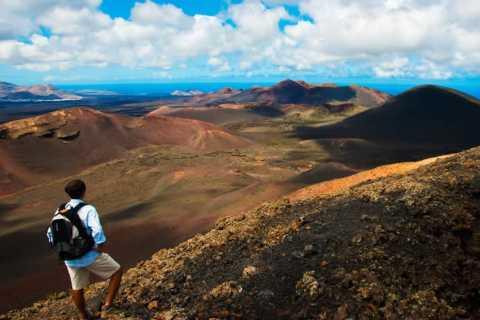 Lanzarote: Dagsrundtur till nationalparken Timanfaya