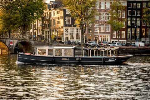 Amsterdam: crucero por el canal con guía nativo alemán