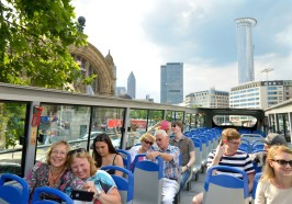 Wat te doen in Frankfurt/Main - Frankfurt: hop on, hop off Skyline of Express Tour