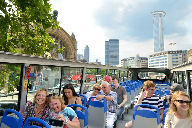 Frankfurt: Hop-On/Hop-Off Skyline oder Express City Tour