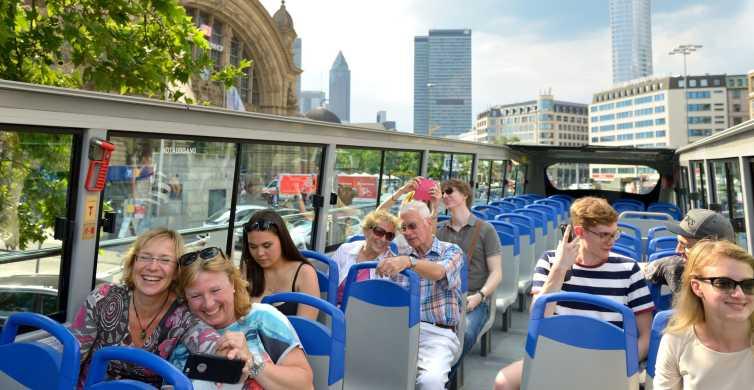 Frankfurt: hop on, hop off Skyline of Express Tour