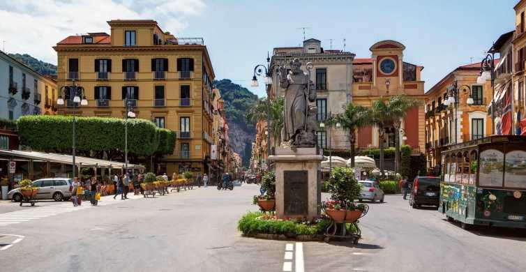 Naples: Pompeii and Sorrento Wheelchair Friendly Tour