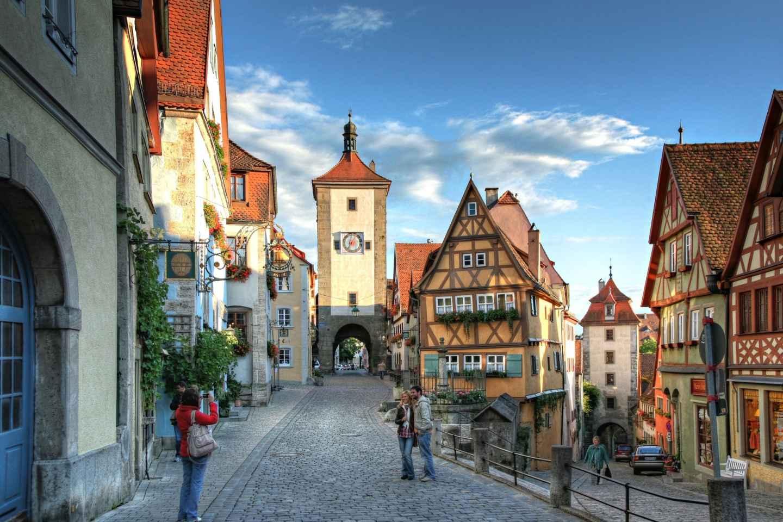 Ab Frankfurt: Tagesausflug nach Rothenburg ob der Tauber