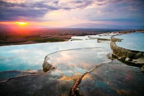 From Istanbul: Pamukkale Day Trip, Including Flights