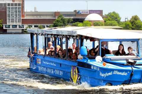 Boston: tour anfibio original