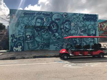 Miami: Street-Art-Tour im Golfcart durch Wynwood