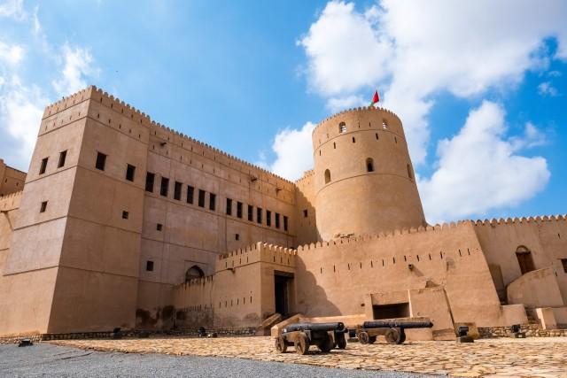 Van Muscat: Green Mountain en Jebel Al Akhdar Day Tour