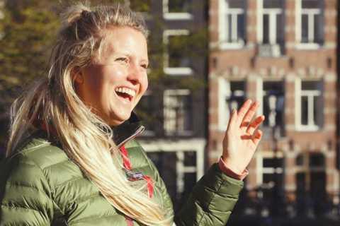 Amsterdam: Jordaan District Tour with a German