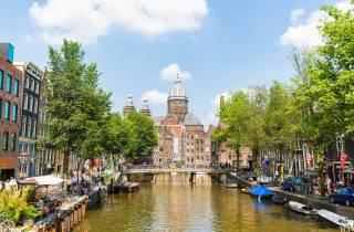 Amsterdam Sightseeing-Tour mit Bus- und Kanalbootsfahrt