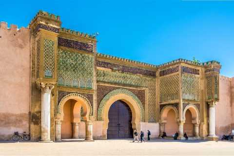 2 Day Tour From Fes: Volubilis, Meknes & Chefchaouen
