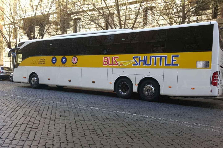 Hafen Civitavecchia: Shuttle-Bus zum/vom Rom Hauptbahnhof