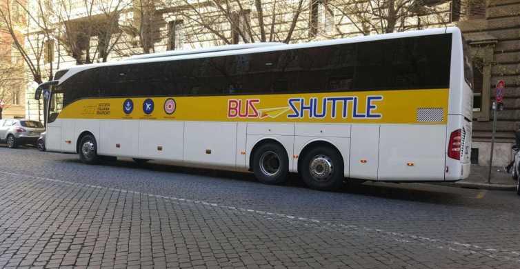 Civitavecchia Port: Shuttle Bus to/from Rome Termini Station