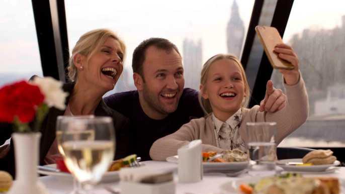Londres: paseo en barco por el Támesis con almuerzo