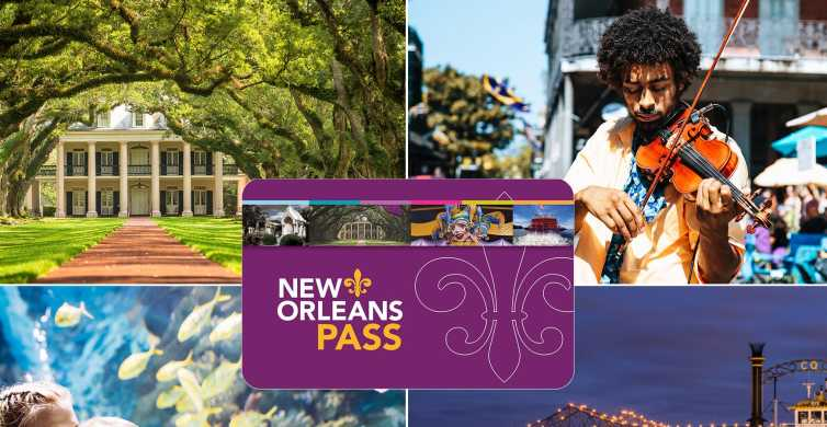 New Orleans Pass: Over 25 Tours and Attractions